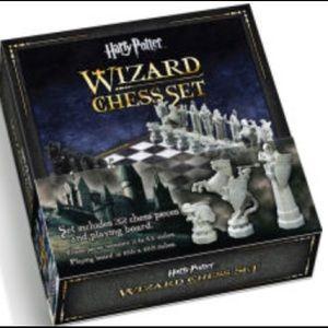 Harry Potter wizard chess set.